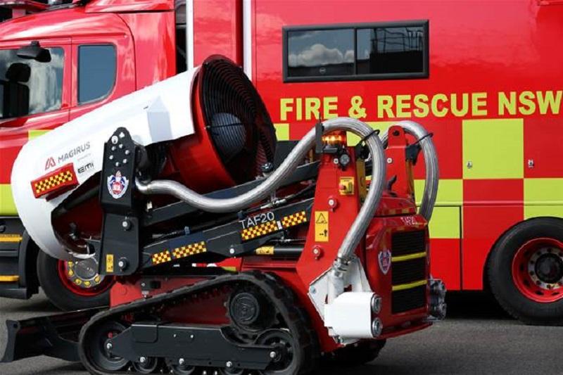 رباتهای آتشنشان
